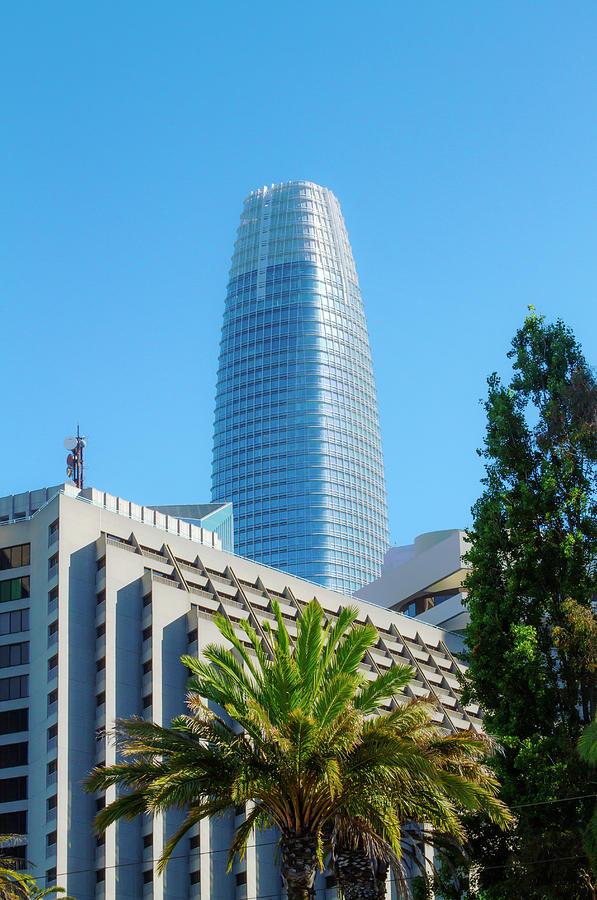Salesforce Tower and Hyatt Regency by Bonnie Follett