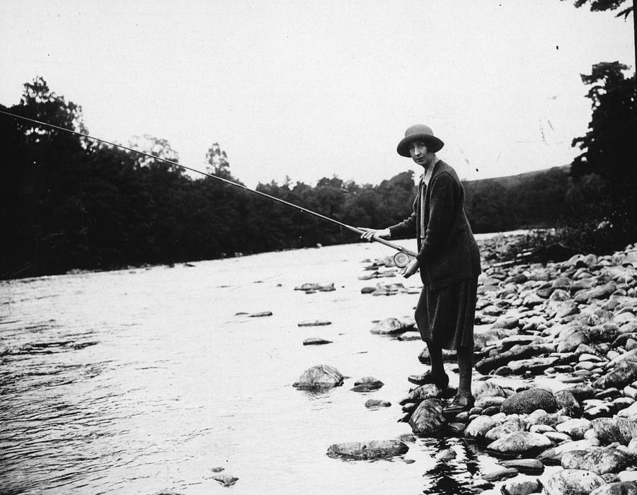 Salmon Fishing Photograph by W. G. Phillips