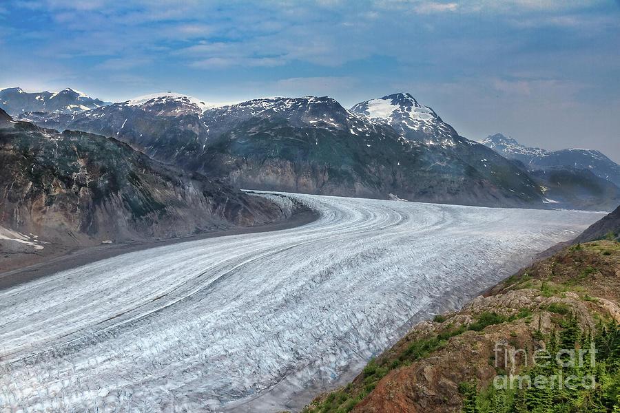 Canada Photograph - Salmon Glacier  by Robert Bales