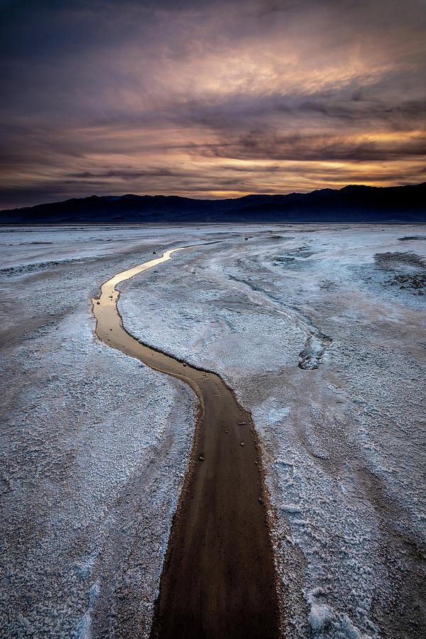 Salt Creek Flats III by Peter Tellone