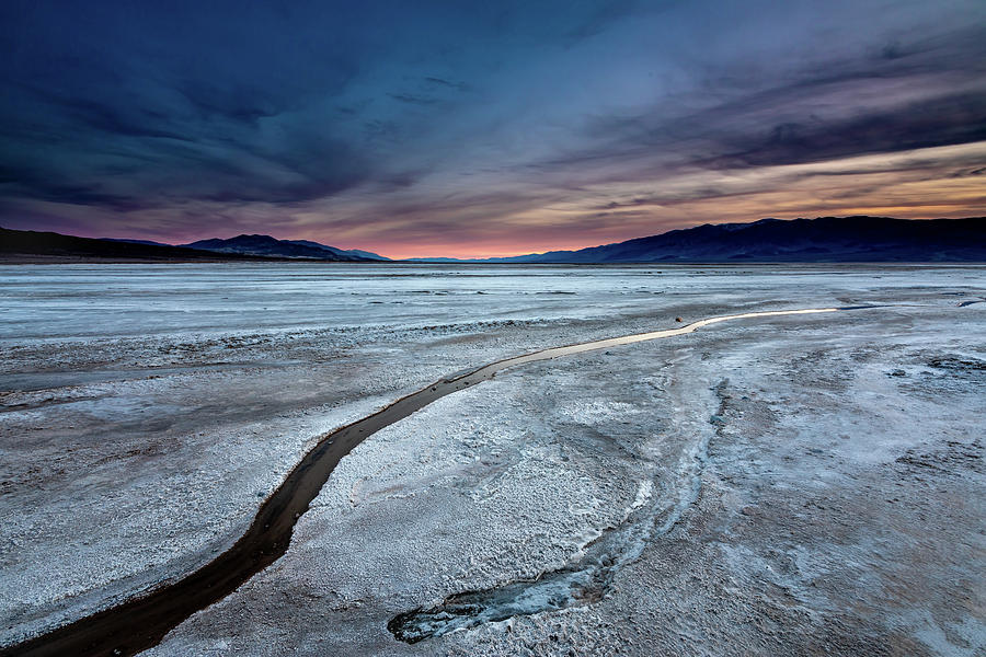 Salt Creek Flats IV by Peter Tellone