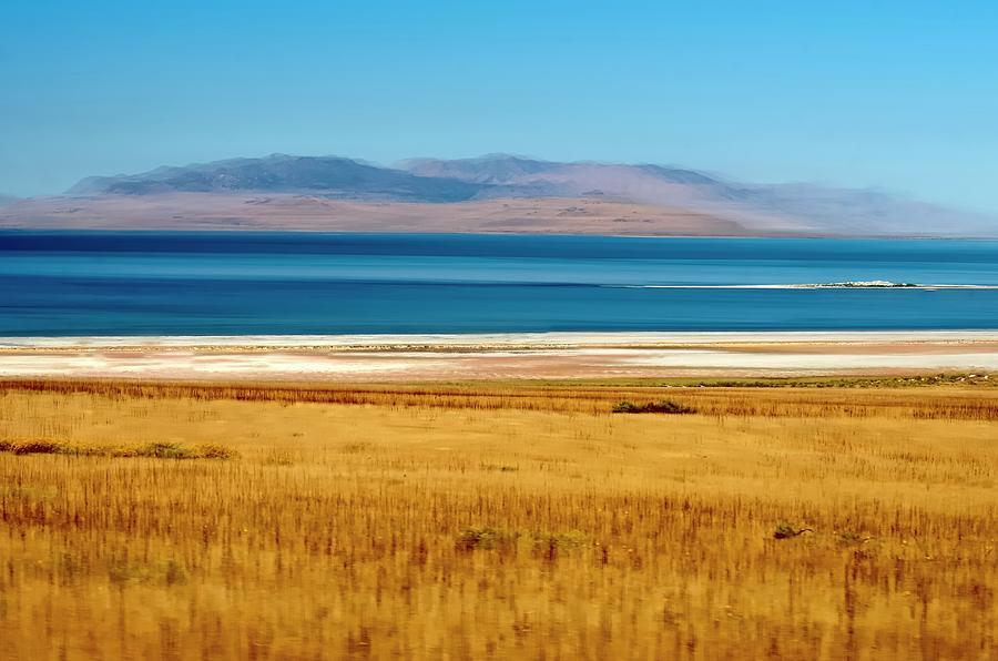 Salt Lake Abstract Photograph