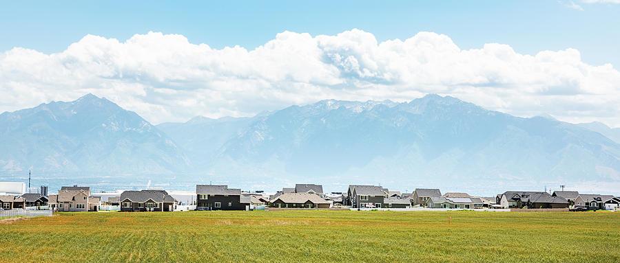 Salt Lake Suburb by Andy Romanoff
