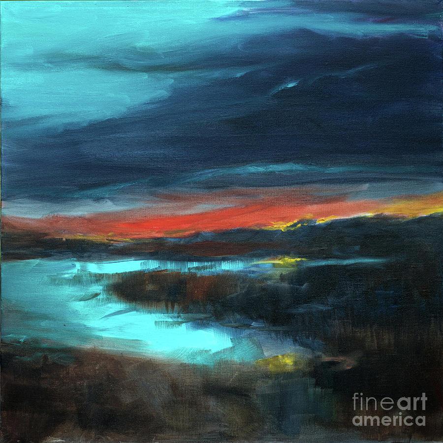 Salt Marsh Sunset by Linda Olsen