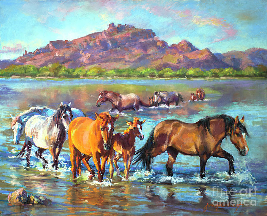 Salt River Solitude by Jean Hildebrant