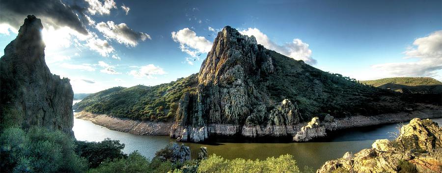 Scenic Photograph - Salto Del Gitano. Parque Natural De by Roberto Herrero Garcia