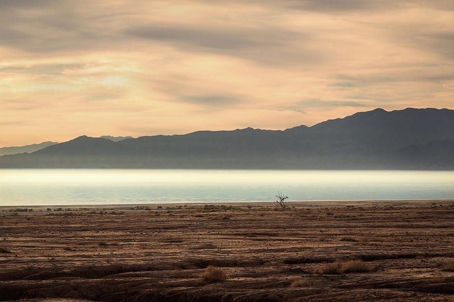 Salton Sea Sunset by Rick Strobaugh