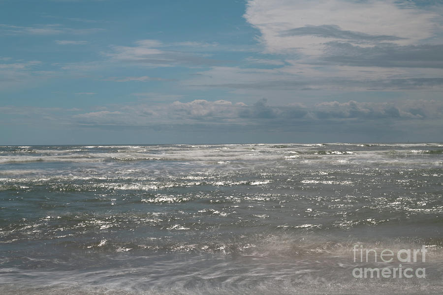 Salty Sea Breezes - Folly Beach in Charleston SC by Dale Powell