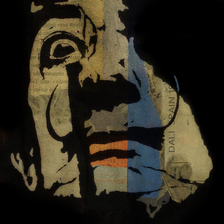 Dali Mixed Media - Salvador Dali  by Paul Lovering