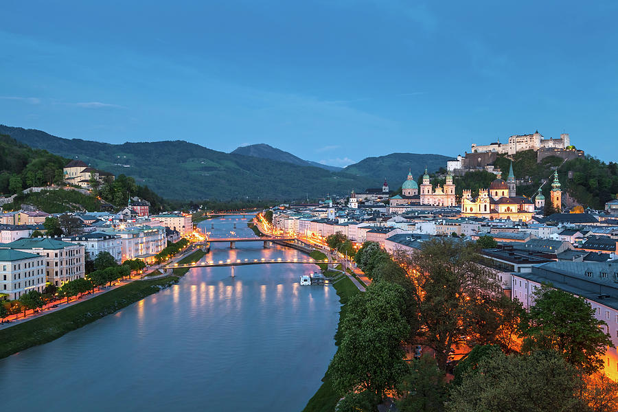 Alps Photograph - Salzburg 09 by Tom Uhlenberg