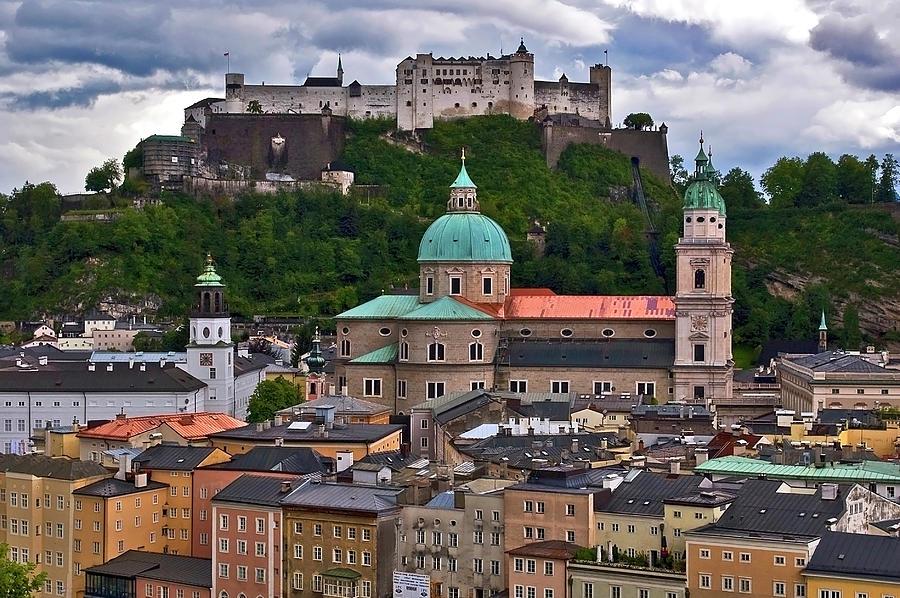 Salzburg Photograph by Nathan Bergeron Photography