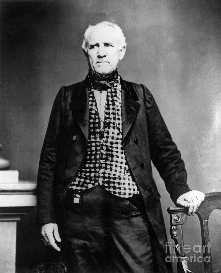 Sam Houston, Governor Of Texas Photograph by Bettmann