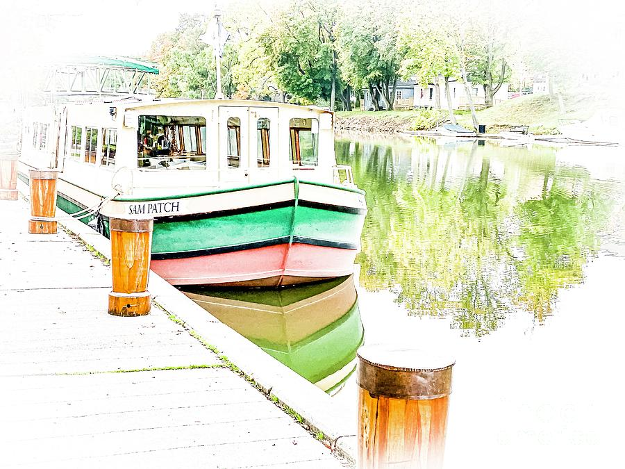 Sam Patch Canal Boat by William Norton