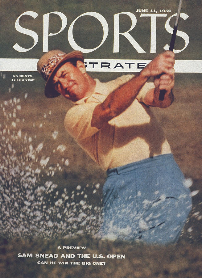 Sam Snead, Golf Sports Illustrated Cover Photograph by Sports Illustrated