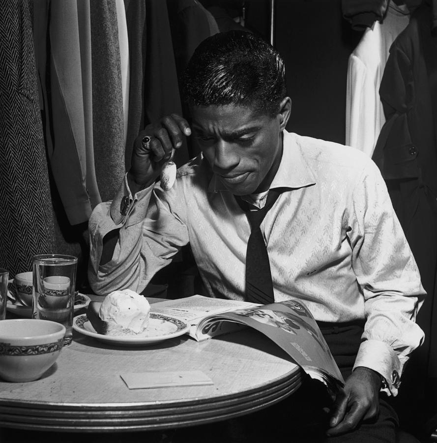 Sammy Davis Jnr Photograph by Archive Photos