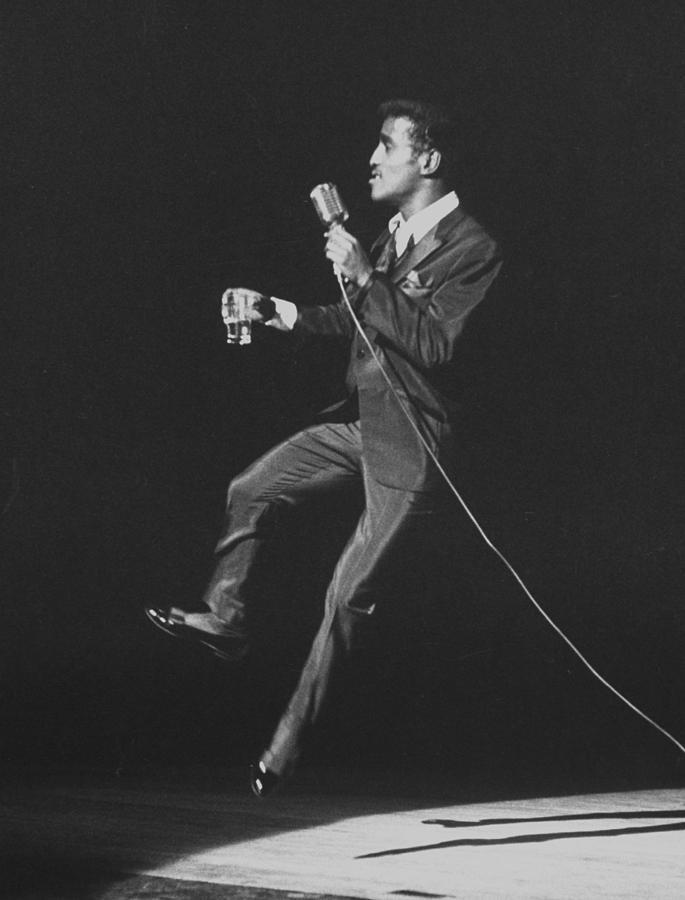 Sammy Jr. Davis Photograph by Allan Grant