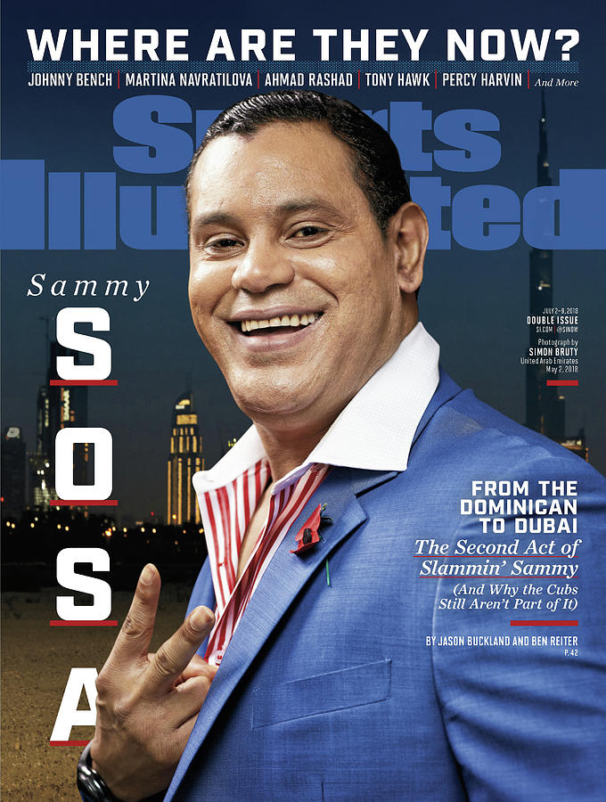 Sammy Sosa, Where Are They Now Sports Illustrated Cover Photograph by Sports Illustrated