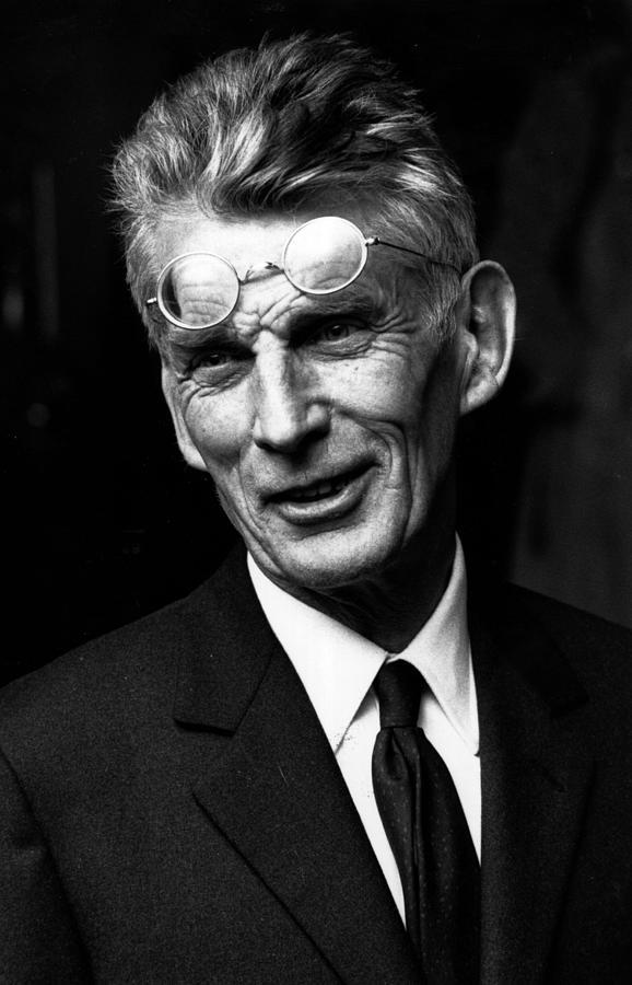 Samuel Beckett Photograph by Reg Lancaster