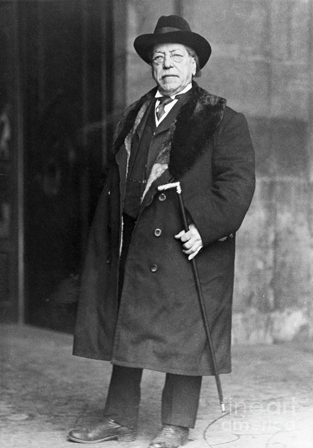 Samuel Gompers American Labor Leader Photograph by Bettmann