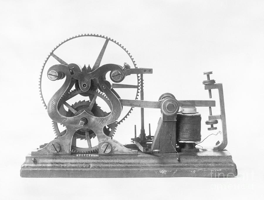 Samuel Morses Telegraph Photograph by Bettmann