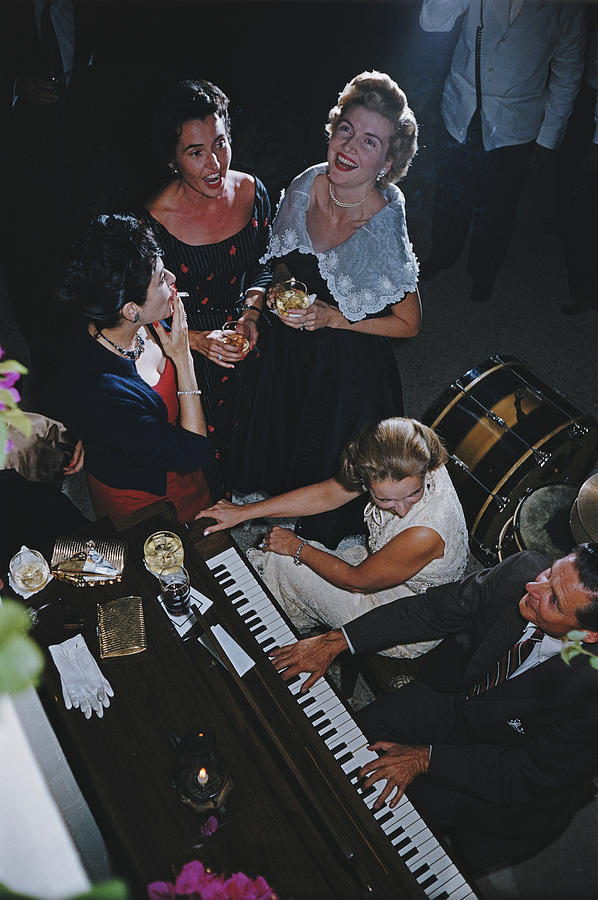 San Antonio Party Photograph by Slim Aarons