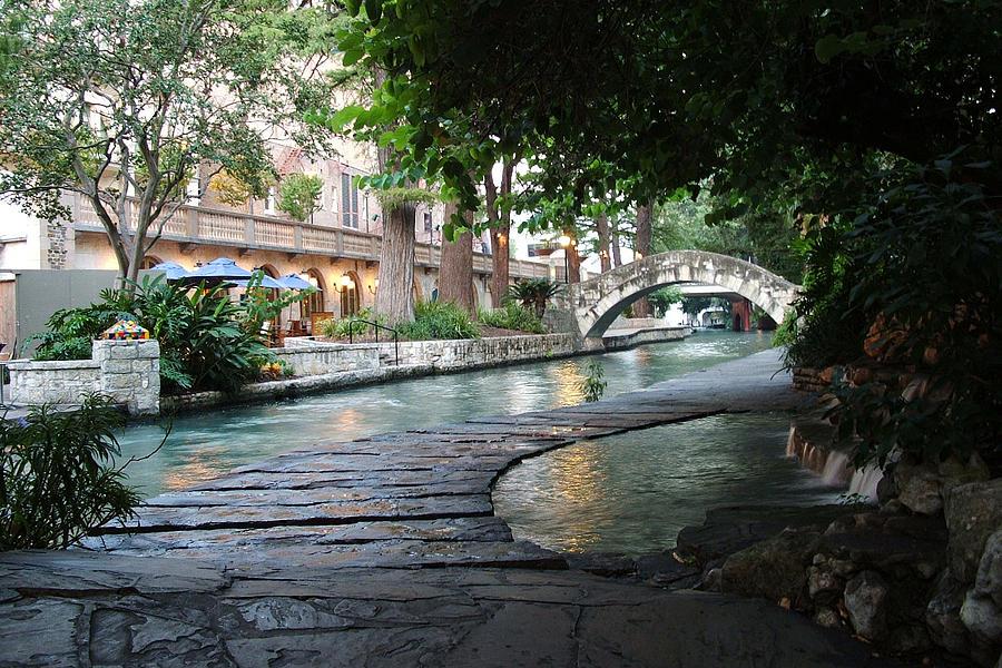San Antonio River Walk Photograph - San Antonio River Walk by Edward Swearingen