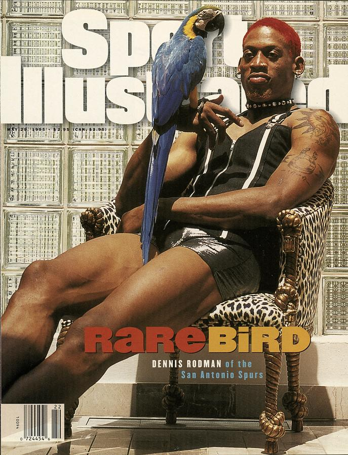 San Antonio Spurs Dennis Rodman Sports Illustrated Cover Photograph by Sports Illustrated