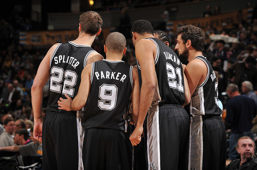 San Antonio Spurs V Denver Nuggets Photograph by Bart Young