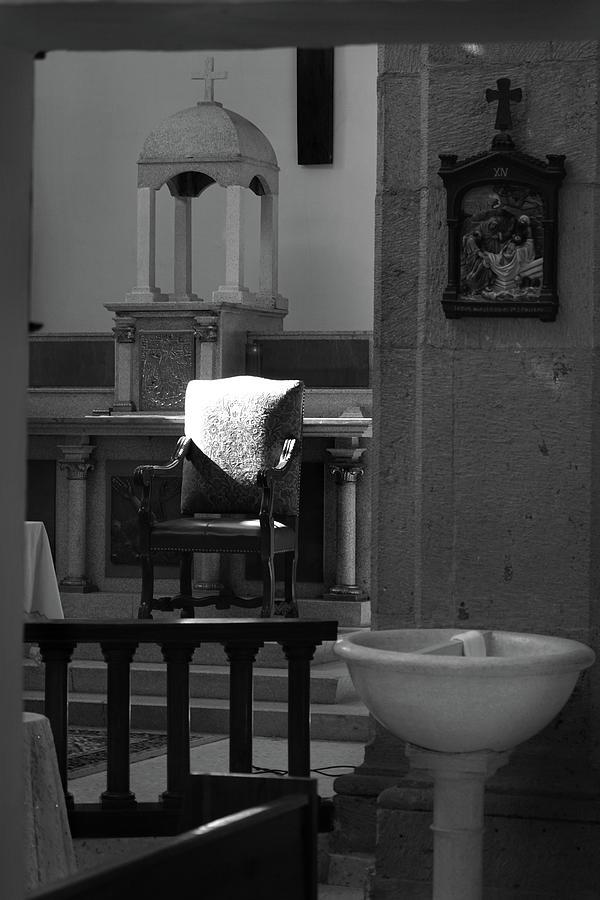San Antonio Templo Cathedra and Font by Jeff Brunton