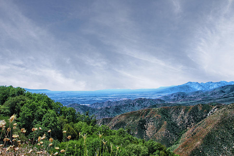San Bernardino Mountains by Robert Hebert
