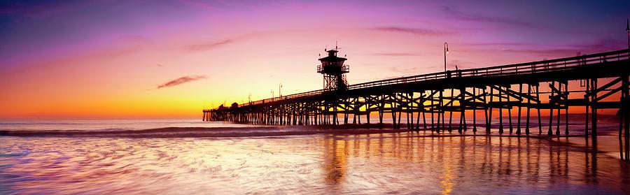 San Clemente Glow by Sean Davey