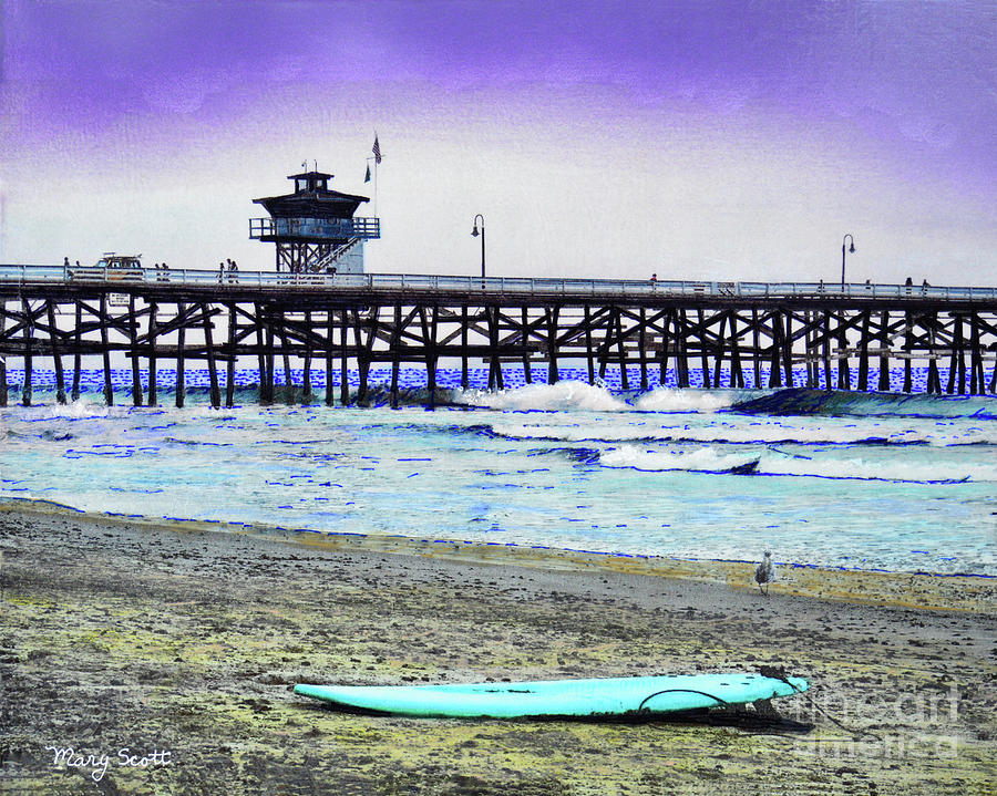 San Clemente Morning Fog by Mary Scott