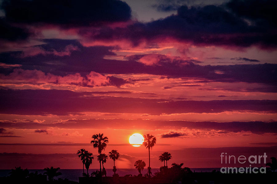 San Clemente Sunset Photograph