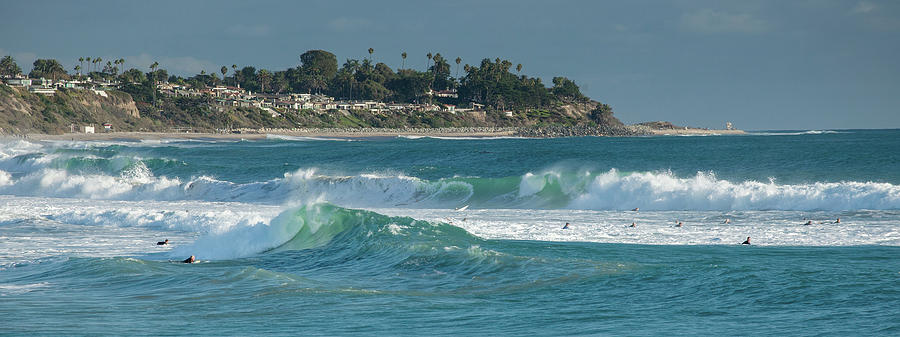 San Clemente Surf by Cliff Wassmann