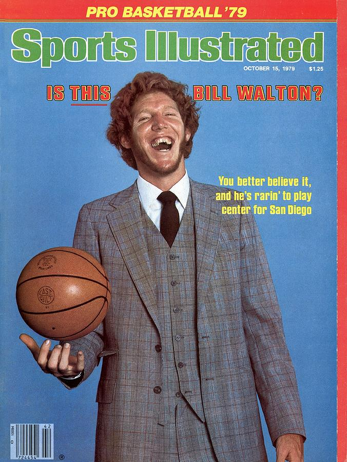 San Diego Clippers Bill Walton Sports Illustrated Cover Photograph by Sports Illustrated