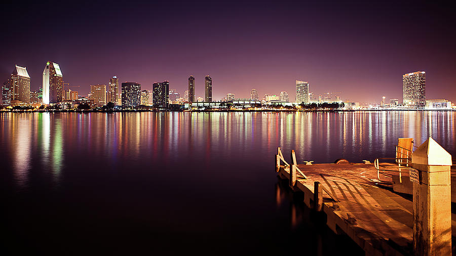San Diego Photograph by Eddie Lluisma