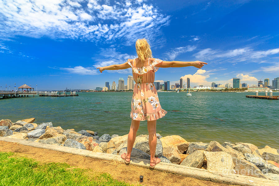 San Diego in summer holiday by Benny Marty