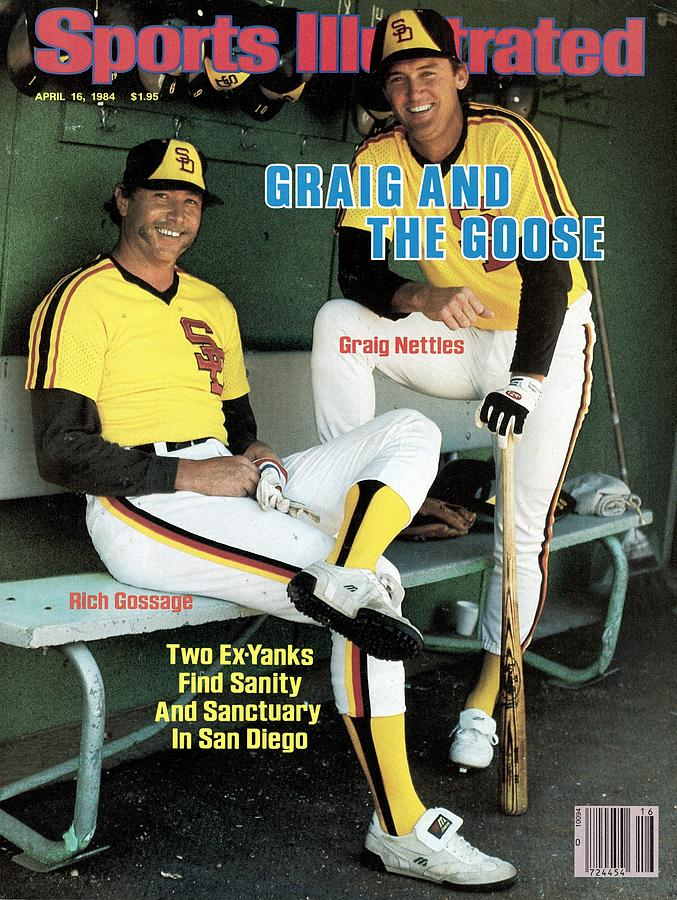 San Diego Padres Goose Gossage And Graig Nettles Sports Illustrated Cover Photograph by Sports Illustrated