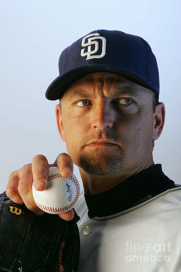 San Diego Padres Photo Day Photograph by Jeff Gross