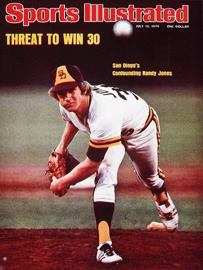 San Diego Padres Randy Jones... Sports Illustrated Cover Photograph by Sports Illustrated
