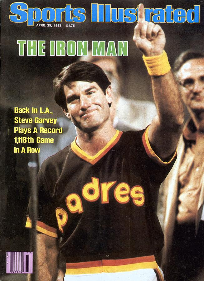 San Diego Padres Steve Garvey Sports Illustrated Cover Photograph by Sports Illustrated