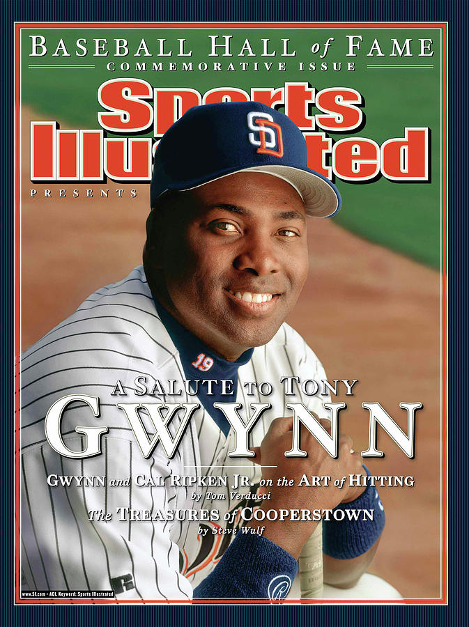 San Diego Padres Tony Gwynn Sports Illustrated Cover Photograph by Sports Illustrated
