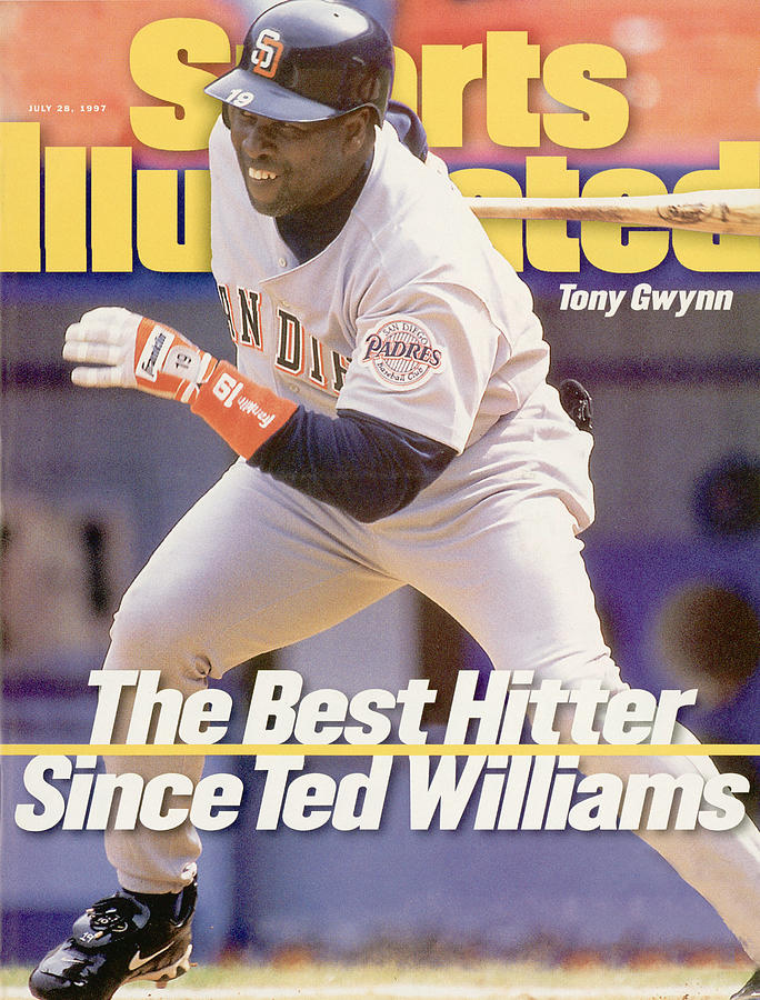 San Diego Padres Tony Gwynn... Sports Illustrated Cover Photograph by Sports Illustrated