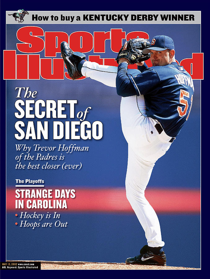 San Diego Padres Trevor Hoffman Sports Illustrated Cover Photograph by Sports Illustrated