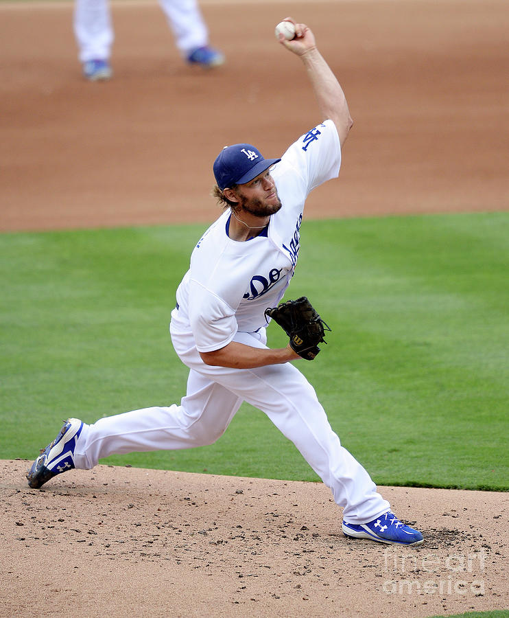 San Diego Padres V Los Angeles Dodgers Photograph by Kevork Djansezian