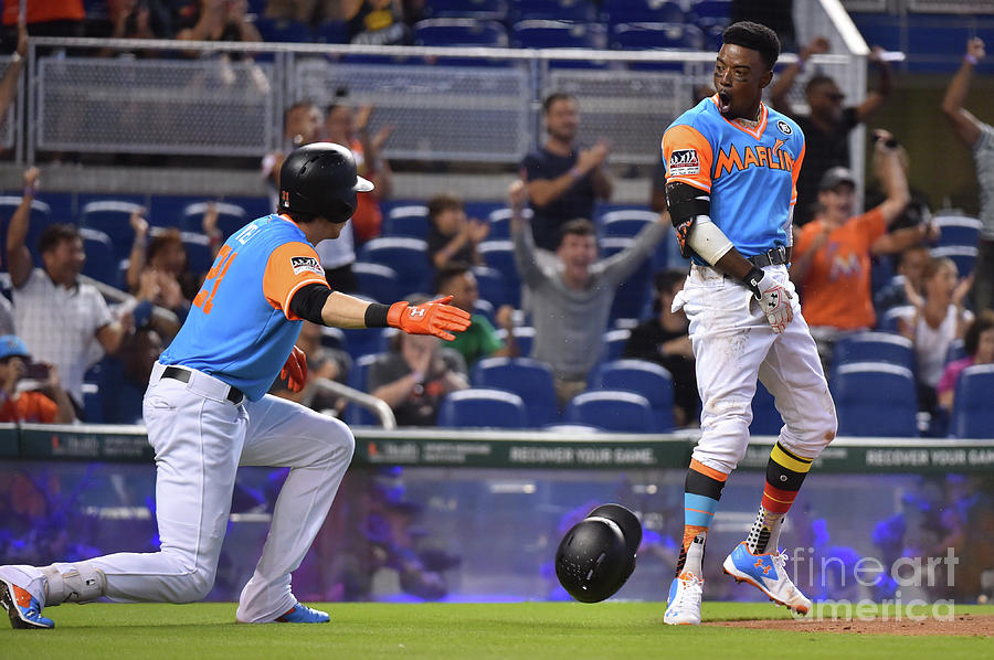 San Diego Padres V Miami Marlins Photograph by Eric Espada