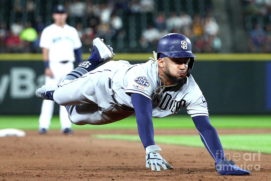 San Diego Padres V Seattle Mariners Photograph by Abbie Parr