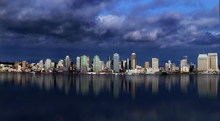 San Diego Panorama Photograph by Csaba Desvari