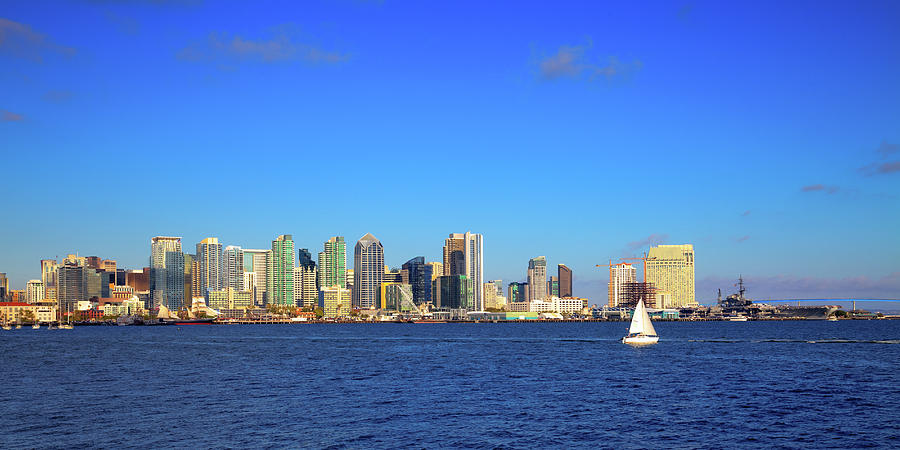 San Diego Skyline by David Patterson