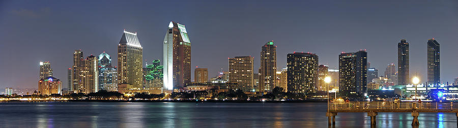 San Diego Skyline Photograph by Photographed By Christopher James Botham